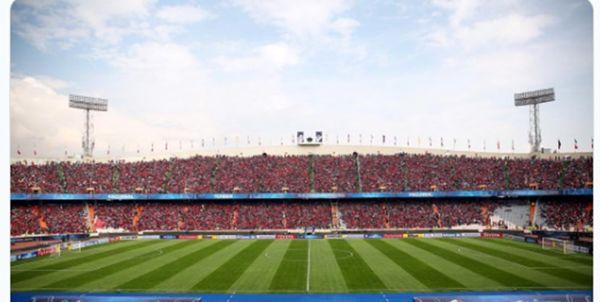 تعجب AFC از حضور پرشور هواداران پرسپولیس+عکس