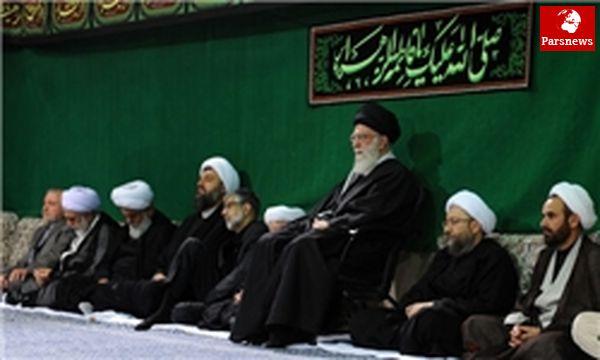 اولین شب عزاداری حضرت فاطمه زهرا (س) در حسینیه امام خمینی (ره) برگزار شد