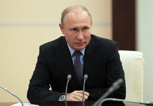 پوتین: روسیه اجازه نداد که دولت سوریه سقوط کند