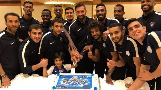 باشگاه الکویت برای سعودیها جشن گرفت
