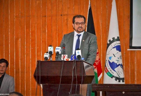 وزیر سابق افغانستان پیک پیتزافروشی شد ! +  عکس