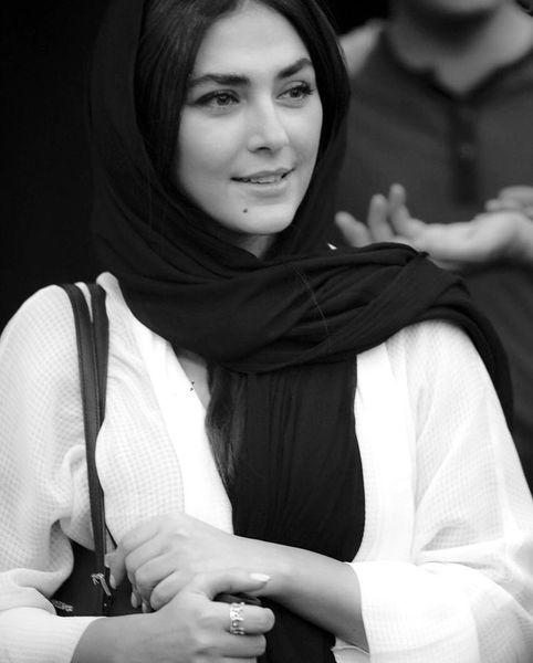 استایل مثل همیشه ساده هدی زین العابدین + عکس