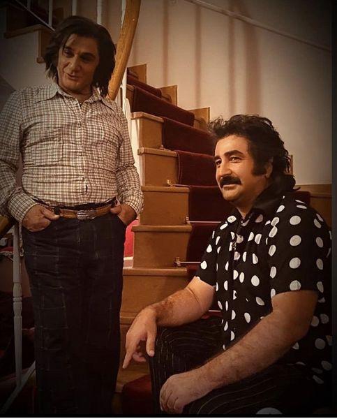 گریم قدیمی مهران احمدی + عکس
