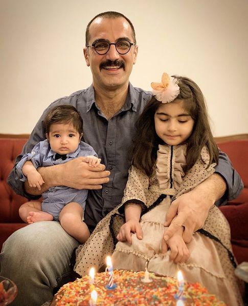 فرزندان کوروش سلیمانی + عکس