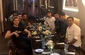 افطاری سردار آزمون با دوستانش