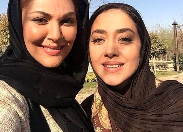 دو خانم بازیگر معروف در یک قاب+عکس
