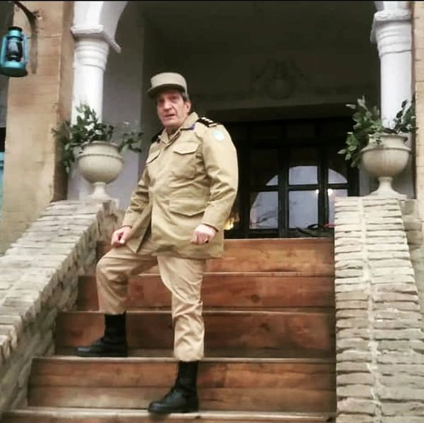 خشایار راد در لباس سربازی + عکس