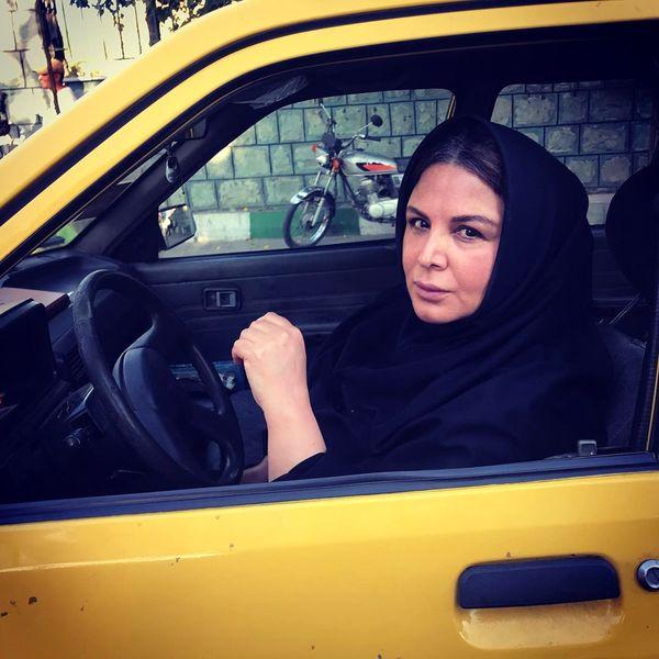 شهره سلطانی راننده خطی شد+عکس
