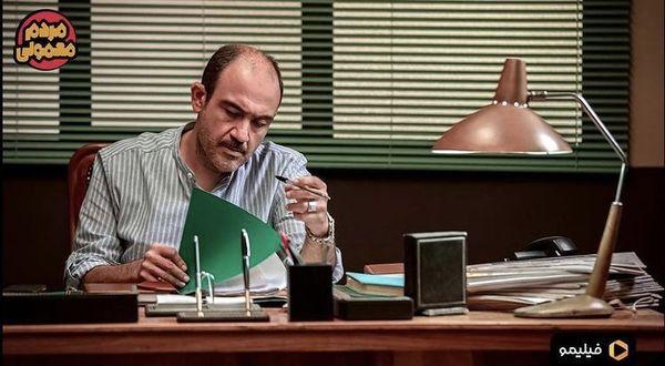 نقش آفرینی متفاوت مهران غفوریان در سریال مردم معمولی + عکس