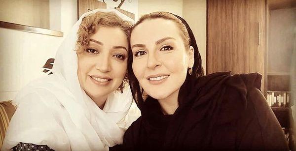آزیتا ترکاشوند در آغوش همسر سابق بازیگر مشهور + عکس