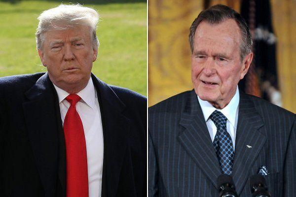 واکنش کاخ سفید به خبر مرگ جرج بوش پدر