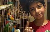 پسر و عضو جدید خانواده سیما تیرانداز