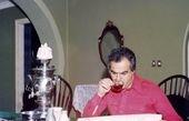 عکس سوپراستار دهه پنجاه در منزل شخصی اش