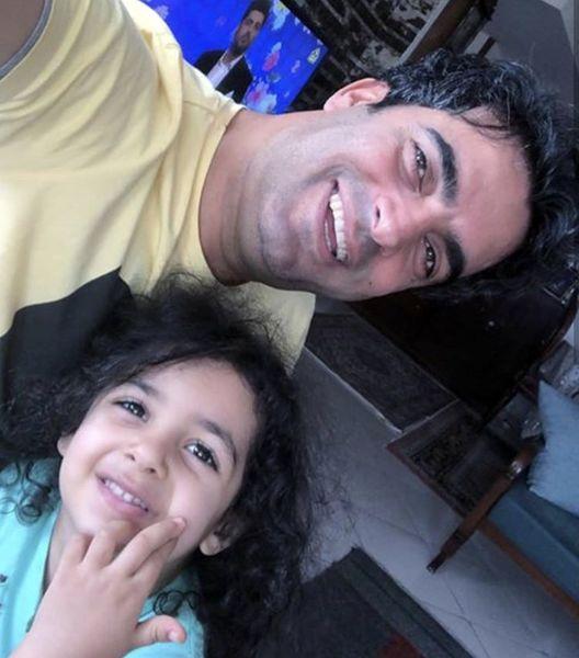 همسر و فرزند شاد خانم بازیگر + عکس