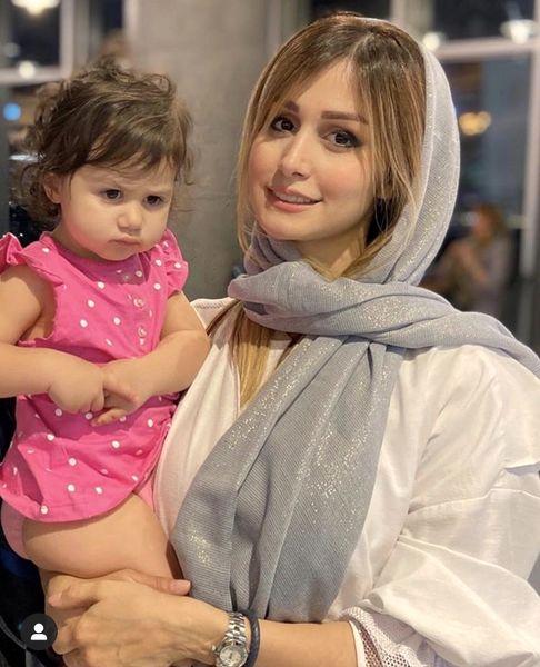 همسر دختر کوچولوی شاهرخ استخری + عکس