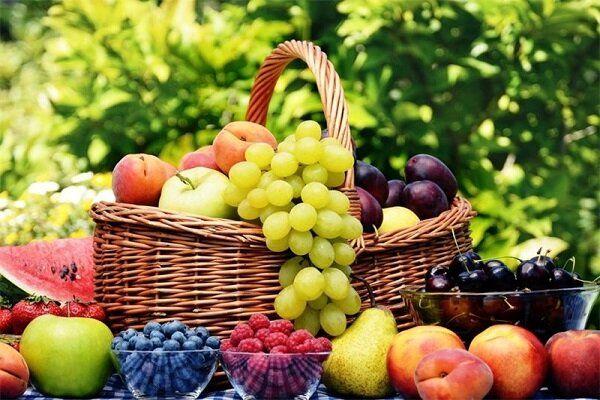 میزان مصرف میوه در طول روز