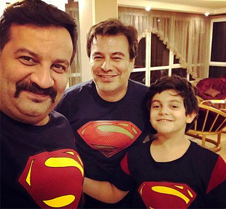 برادران قاسم خانی با لباس های سوپرمنی + عکس