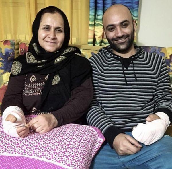 سانحه ای که برای مهدی کوشکی و مادرش رخ داد + عکس