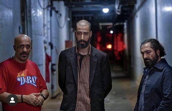 گریم متفاوت بهرام افشاری در فیلم صحنه زنی + عکس