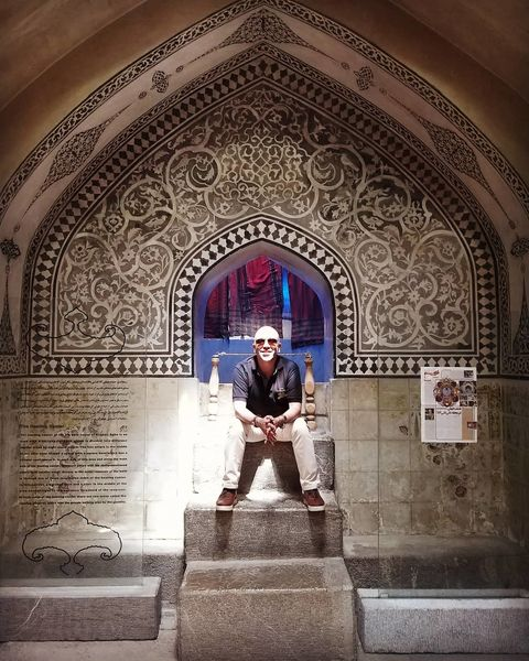 گشت و گذار آقای کمدین در اصفهان+عکس