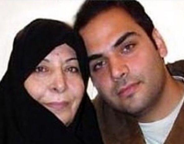 احسان علیخانی و مادرش+عکس