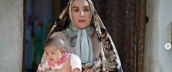 آزیتا ترکاشوند و بچه اش در فیلم زهرمار + عکس