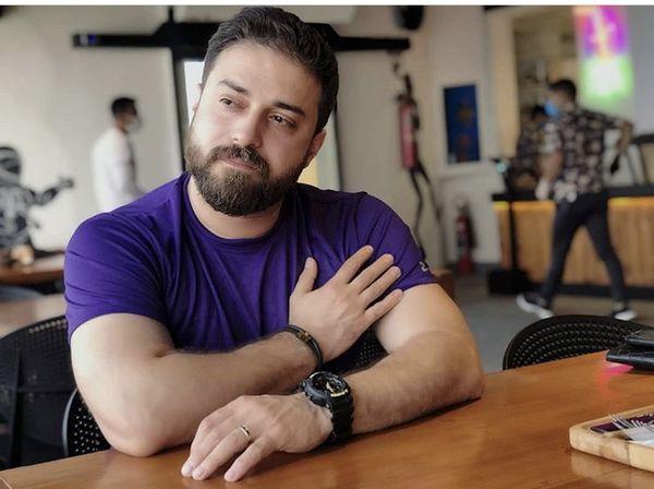 بابک جهانبخش در باشگاه بدنسازی + عکس