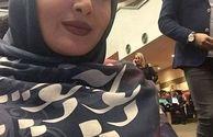 شیلا خداداد با روسری خاص ایرانی اش+عکس