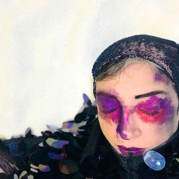 افسرالملوک با چشمانی کبود+عکس