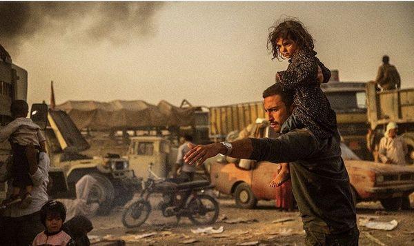 امیر جدیدی در میدان جنگ + عکس