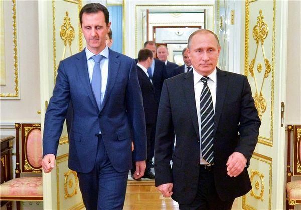 پوتین و اسد امروز در سوچی دیدار کردند