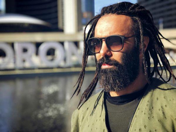 آقای بازیگر با موهای عجیب جدیدش+عکس