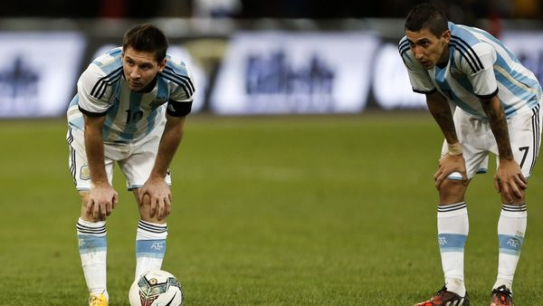 مسی و دیماریا غایب امروز تمرینات آرژانتین