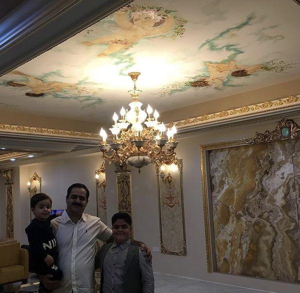 بهروز پایتختی در کنار پدر و برادرش + عکس