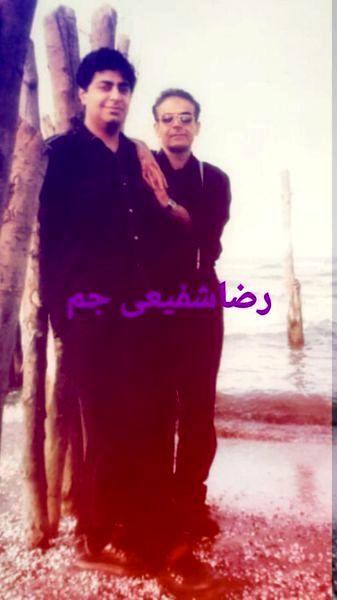 حمید لولایی و رضا شفیعی جم وقتی خیلی لاغر بود + عکس