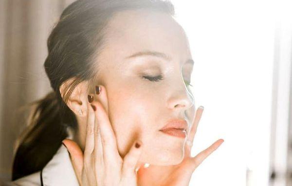 آموزش تصویری ورزش صورت+عکس