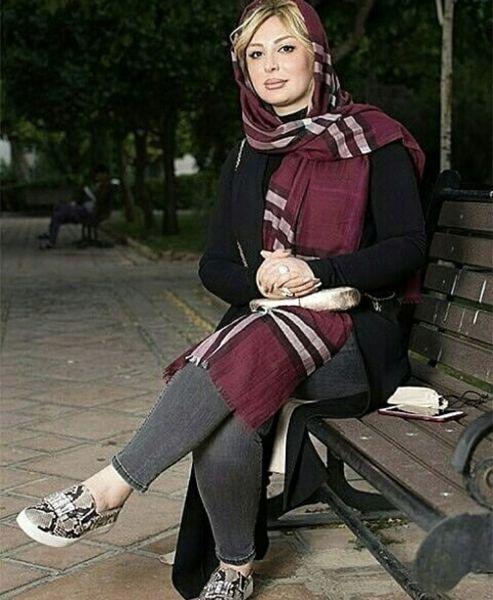 نیوشا ضیغمی در پارک + عکس