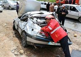 4 کشته و 4 مصدوم در تصادفات جادهای اصفهان