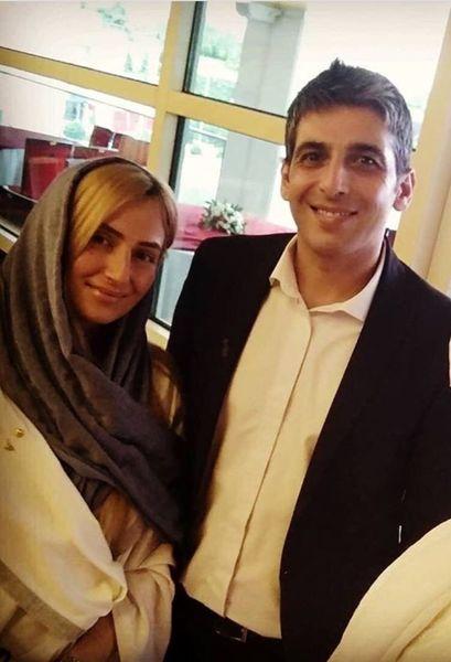 عکس همسر دوم حمید گودرزی