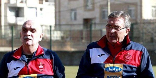 ایوانکوویچ تماشاگر بازی امیدهای پرسپولیس میشود
