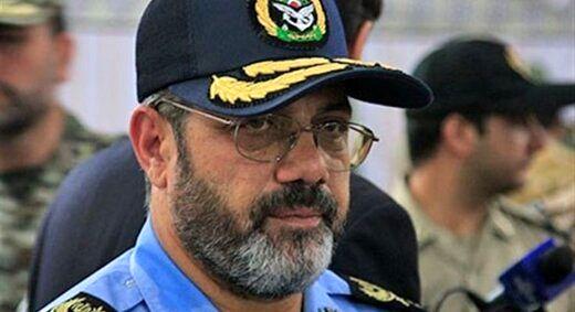 امیر سرتیپ نصیرزاده از پایگاه هوایی چابهار بازدید کرد