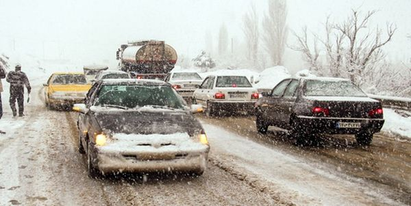 19 استان کشور درگیر برف، کولاک و سیل