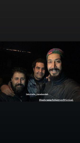 سلفی بازیگران پایتخت در پشت صحنه سری جدید + عکس