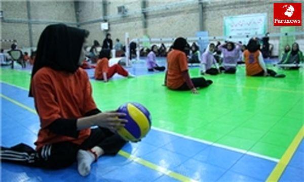 حضور متخصص بدنساز در دومین اردوی تیم ملی والیبال نشسته بانوان جوان