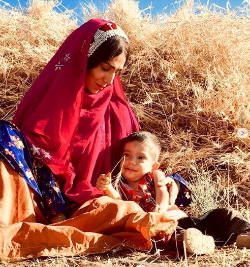 اولین نقش به زبان مادری خانم بازیگر +عکس