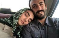 حال خسته و نزار تازه عروس داماد فاطمه گودرزی+عکس