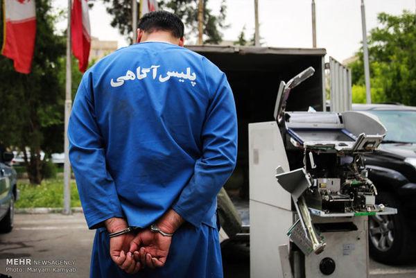 دستگیری سارقانی که با ون به سرقت می رفتند