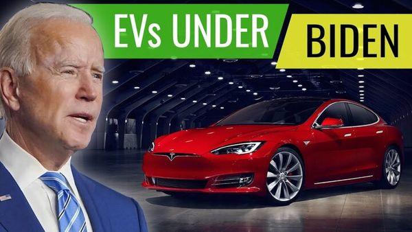 گاف جدید بایدن در زمینه تولید خودروهای برقی !