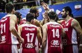 برنامه بازیهای بسکتبال ایران در جام جهانی مشخص شد