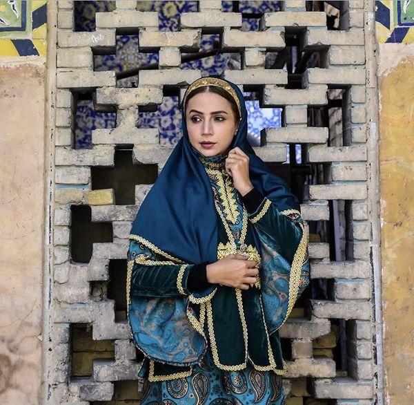 لباسهای طرح قدیم شبنم قلی خانی + عمس